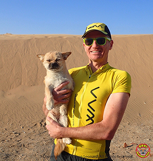 GOING THE DISTANCE TO REUNITE GOBI WITH ULTRAMARATHON RUNNER