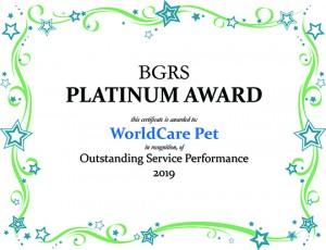 BGRS Award 2019A